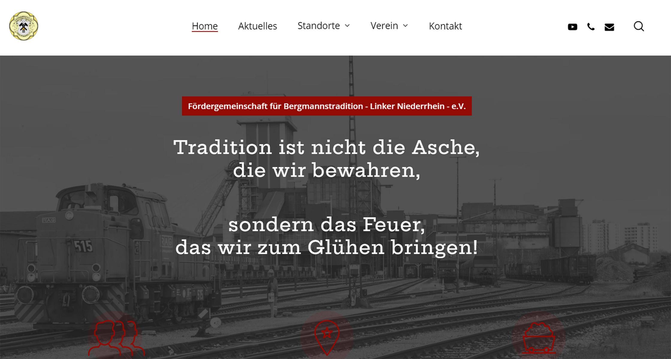 Fördergemeinschaft neue Homepage